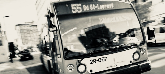 autobus de transport adapté